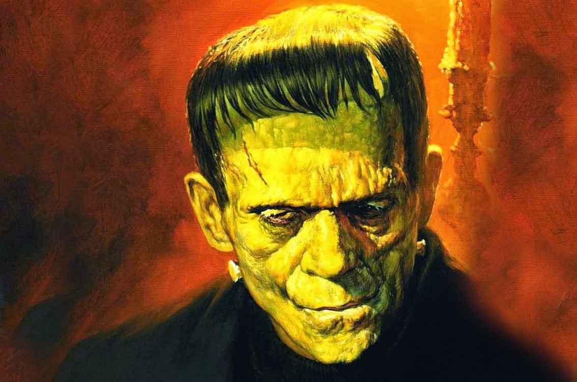 Thema poster Frankenstein 2
