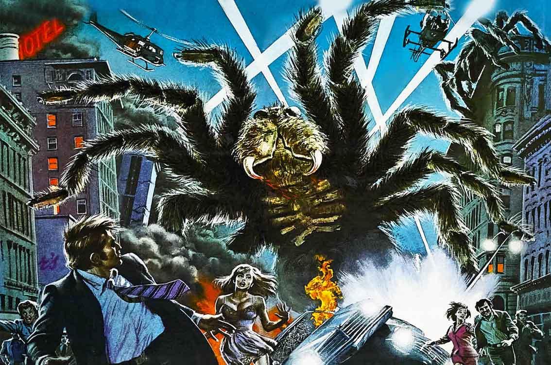 Thema poster araignées