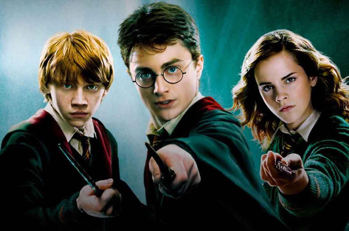 Saga Harry Potter center 3
