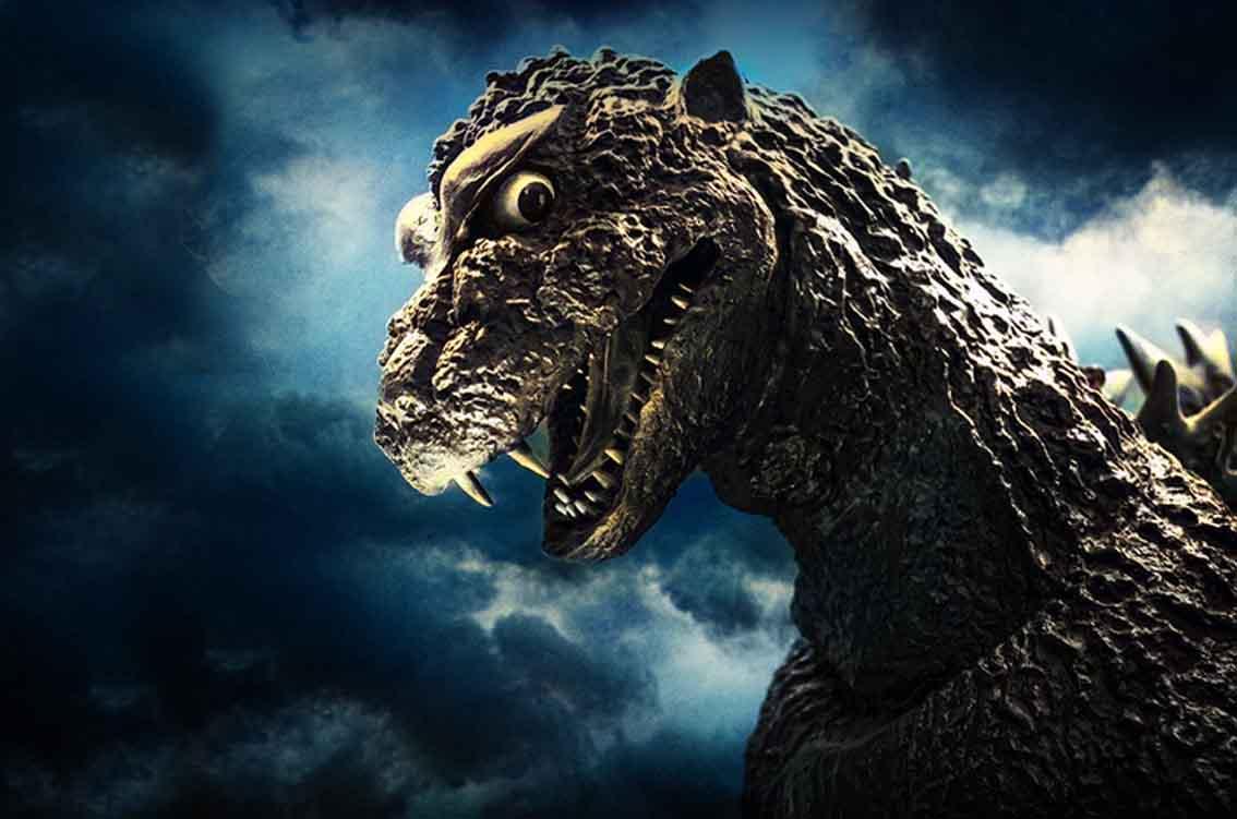 Saga Godzilla center