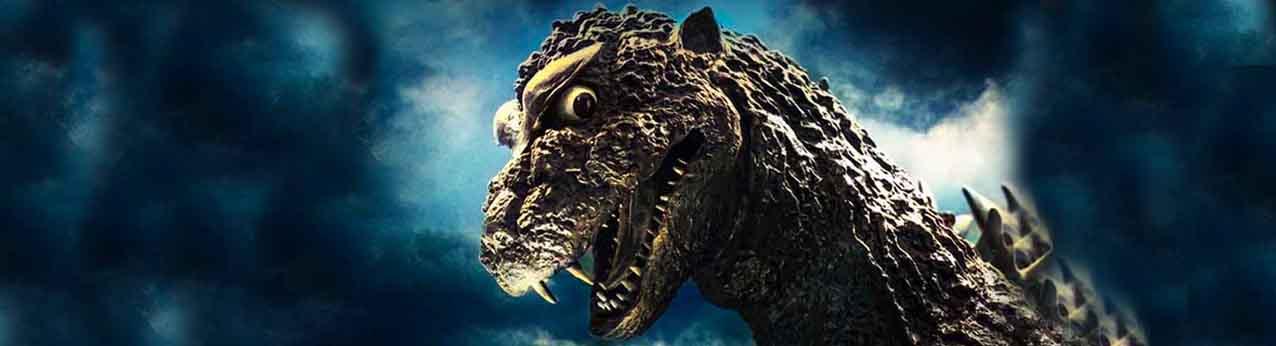 Godzilla bannière