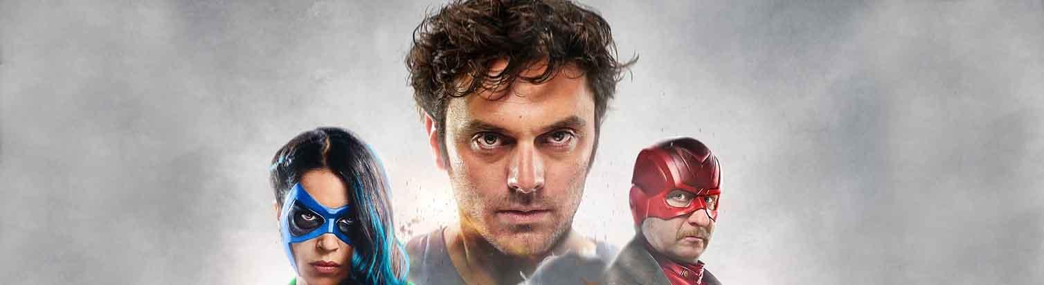 Super-heros banniere